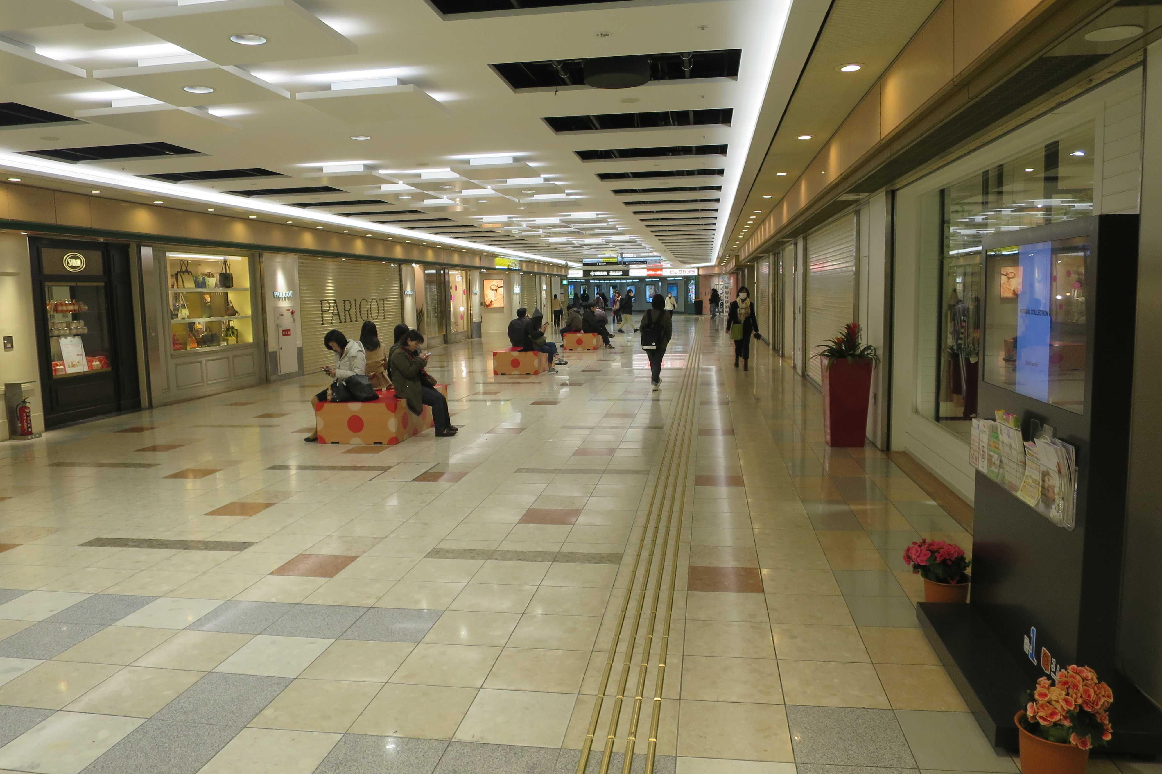 JR岡山駅地下