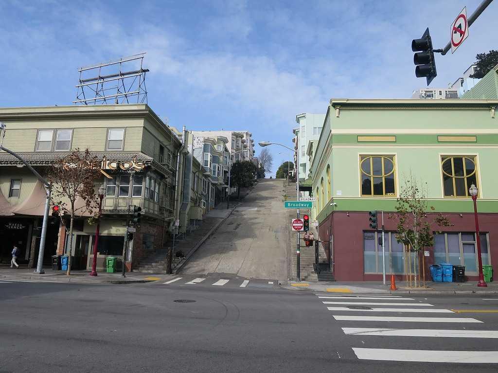 サンフランシスコ - 味わいのある坂道