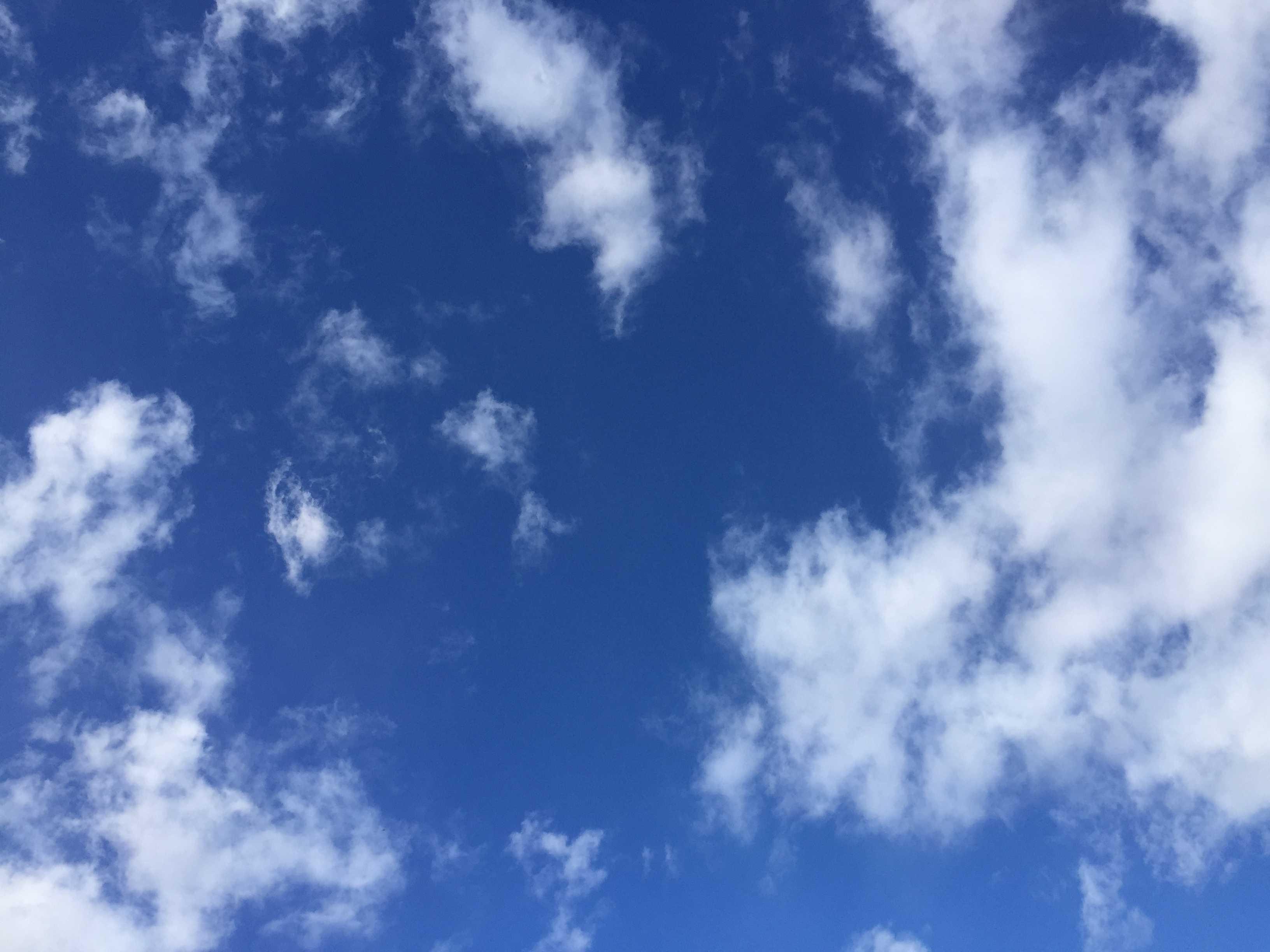 平成29年(2017年) 1月17日の空