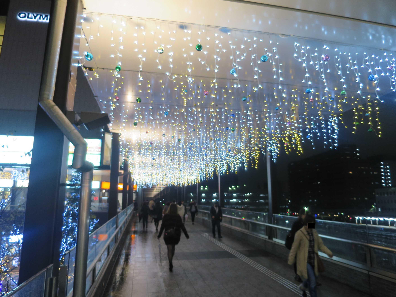 八王子駅のイルミネーション