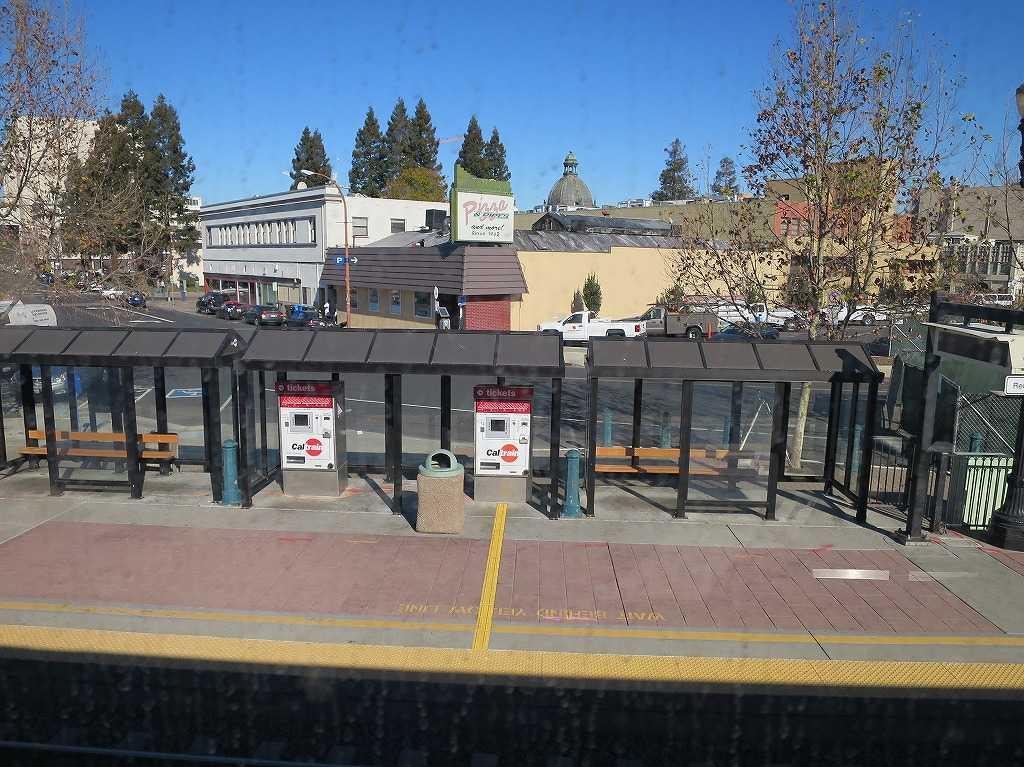 カルトレインの車窓 33 - Redwood City 駅