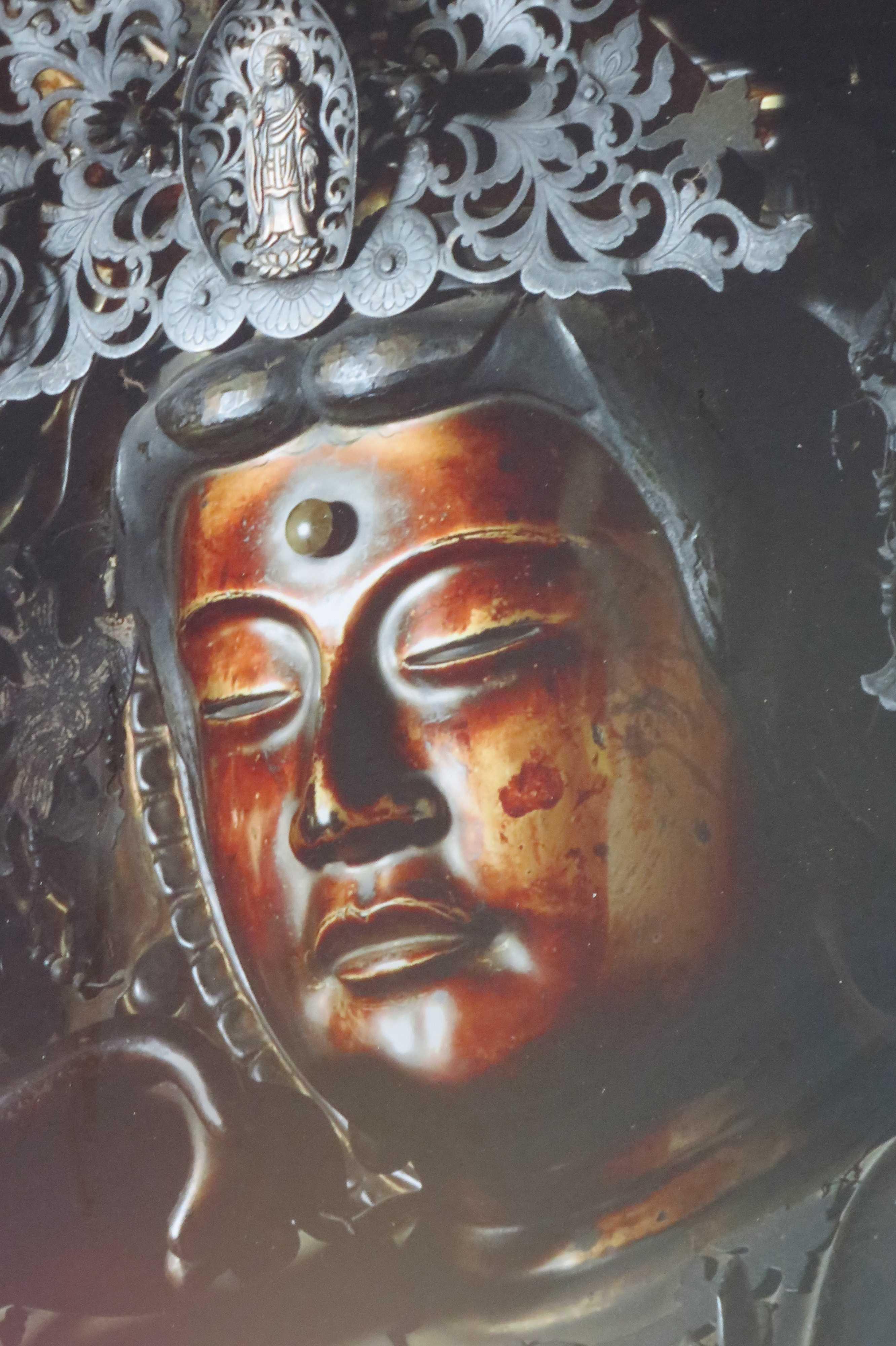 京都・六角堂の前立本尊 如意輪観世音菩薩のご尊顔