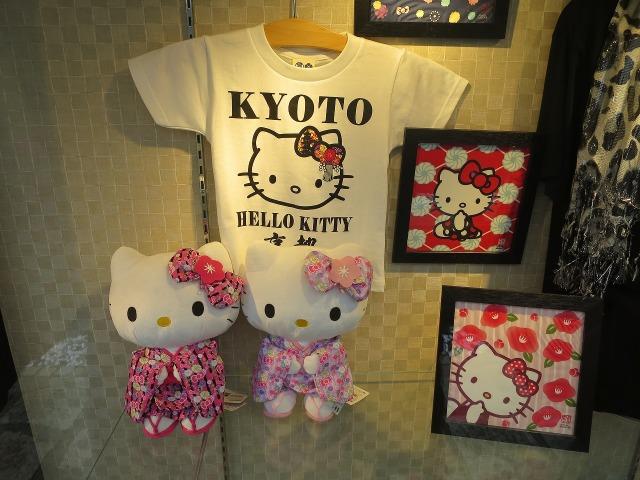 京都のキティちゃん