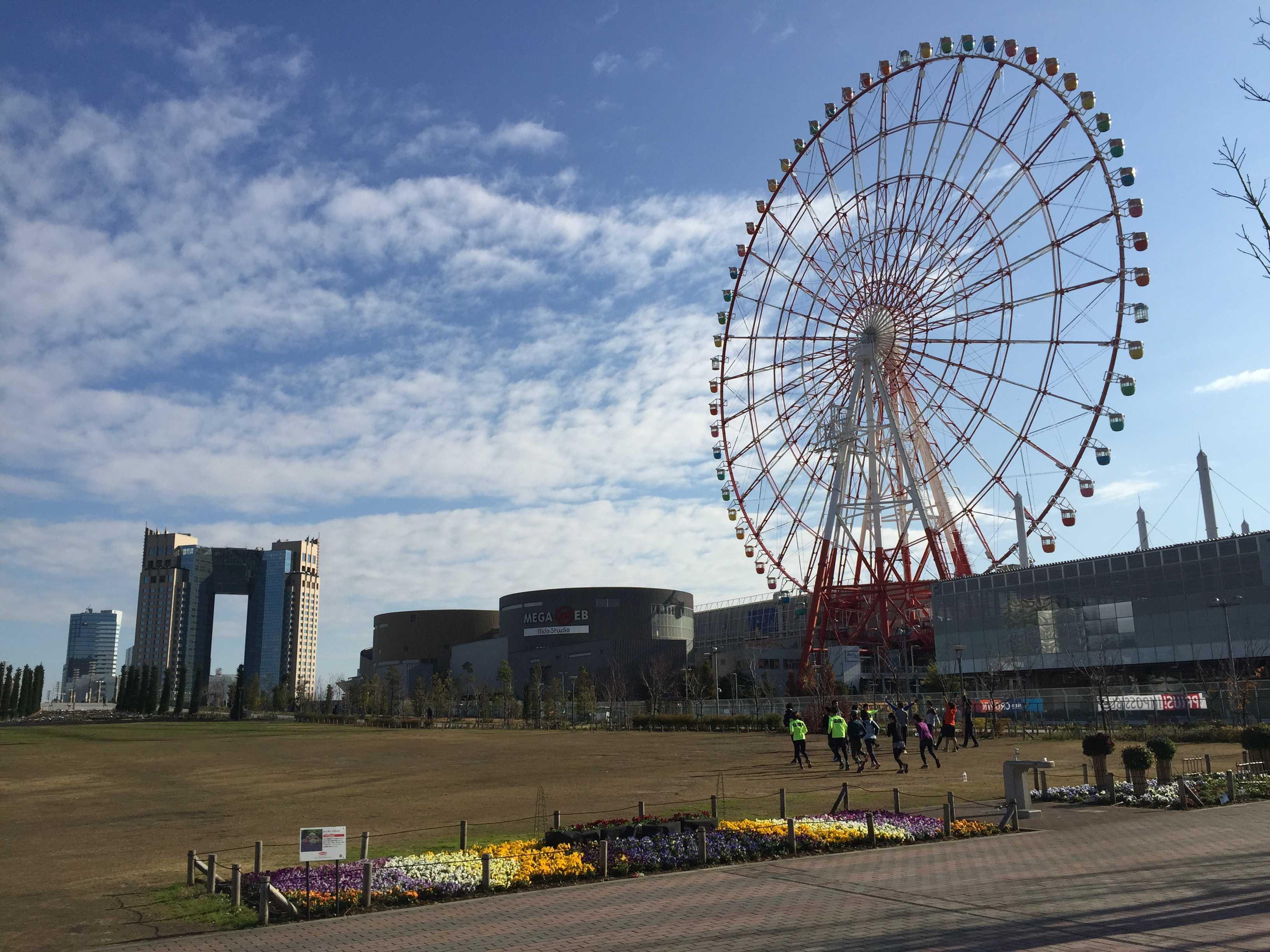 東京ベイコート倶楽部と大観覧車