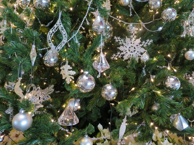横浜ベイホテルのクリスマスツリー