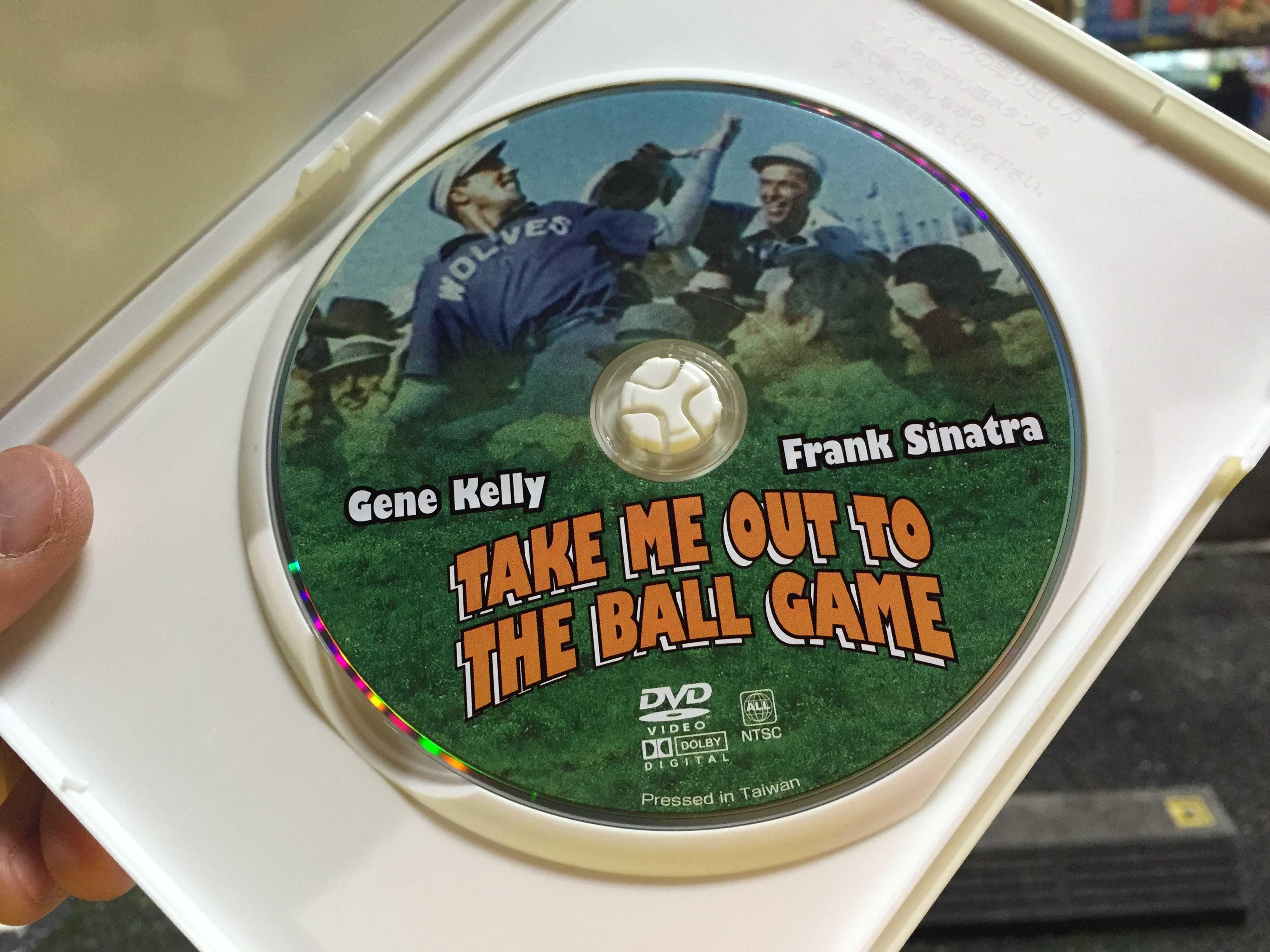 1940年代アメリカ映画:「私を野球につれてって(Take Me Out to the Ball Game)」