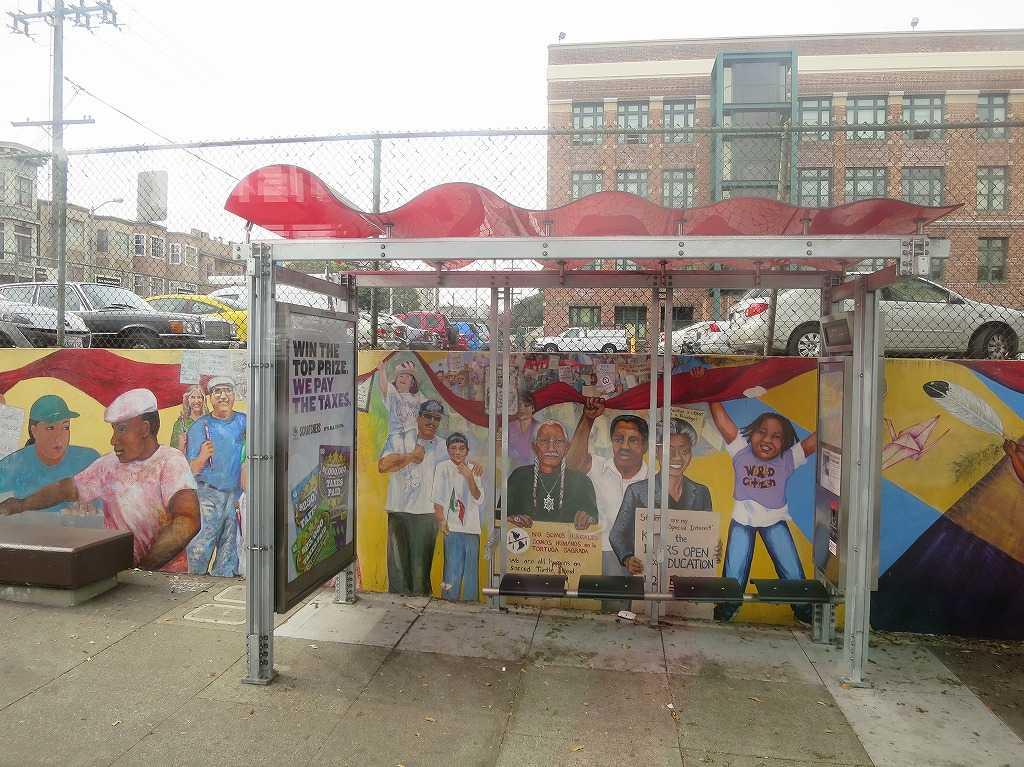 muniバスの楽しいバス停