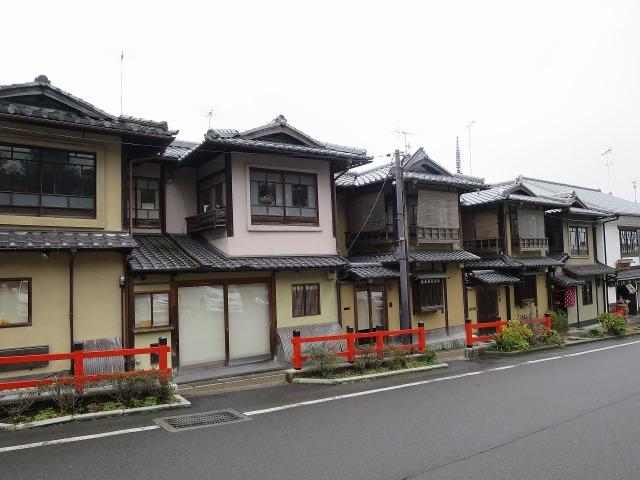京都の家々