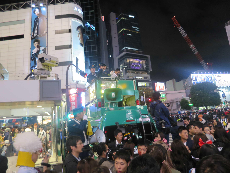 渋谷ハロウィン - DJポリス