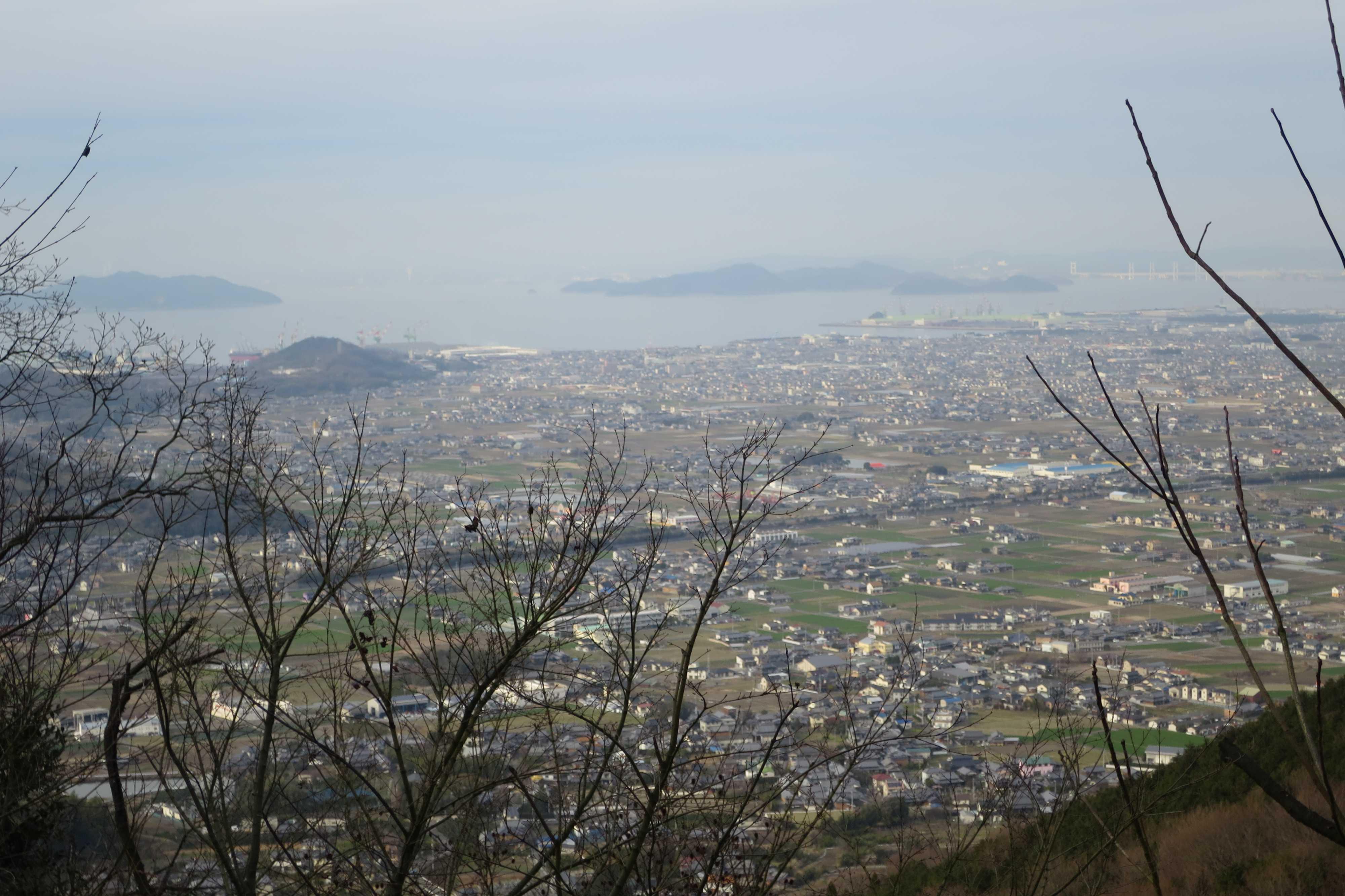 瀬戸内海の島々と讃岐平野