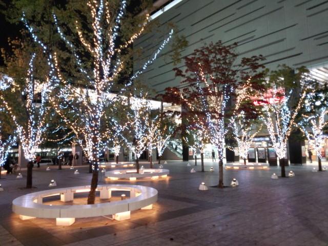 八王子駅南口イルミネーション
