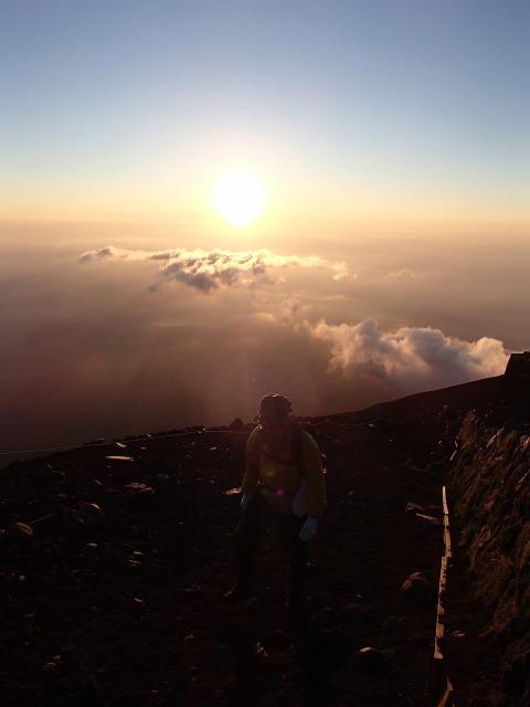 富士山ご来光と雲海