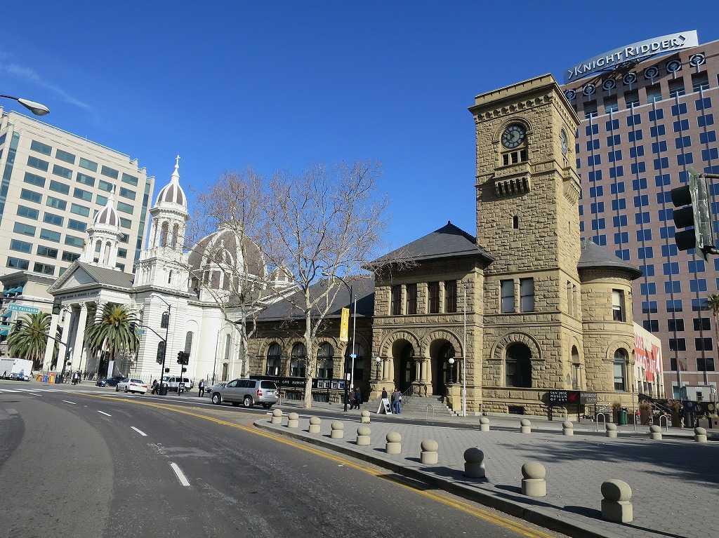 聖ジョセフ・バシリカ大聖堂とサンノゼ美術館