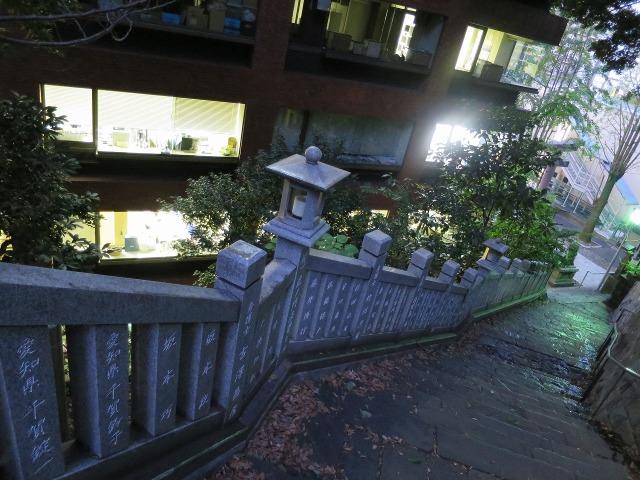 愛宕神社の女坂