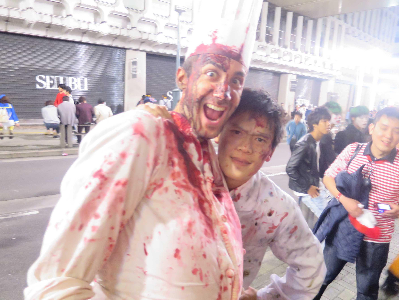 渋谷ハロウィーン - コックさん