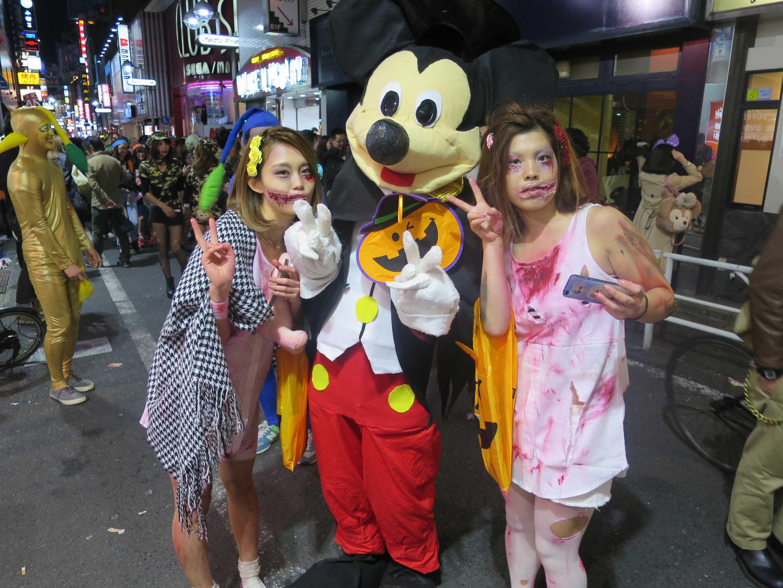 渋谷ハロウィーン - ミッキーマウス
