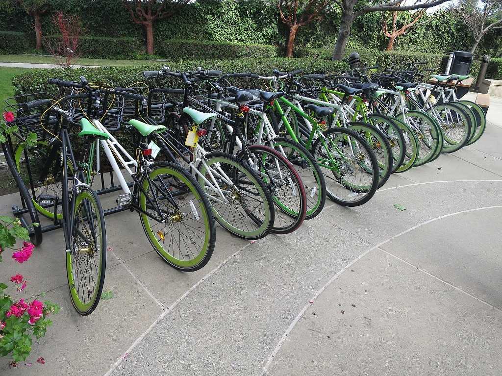 EVERNOTE(エバーノート)本社のフリー自転車