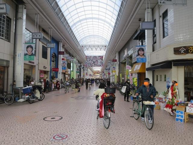 帯屋町アーケード街(広末涼子が育った街)