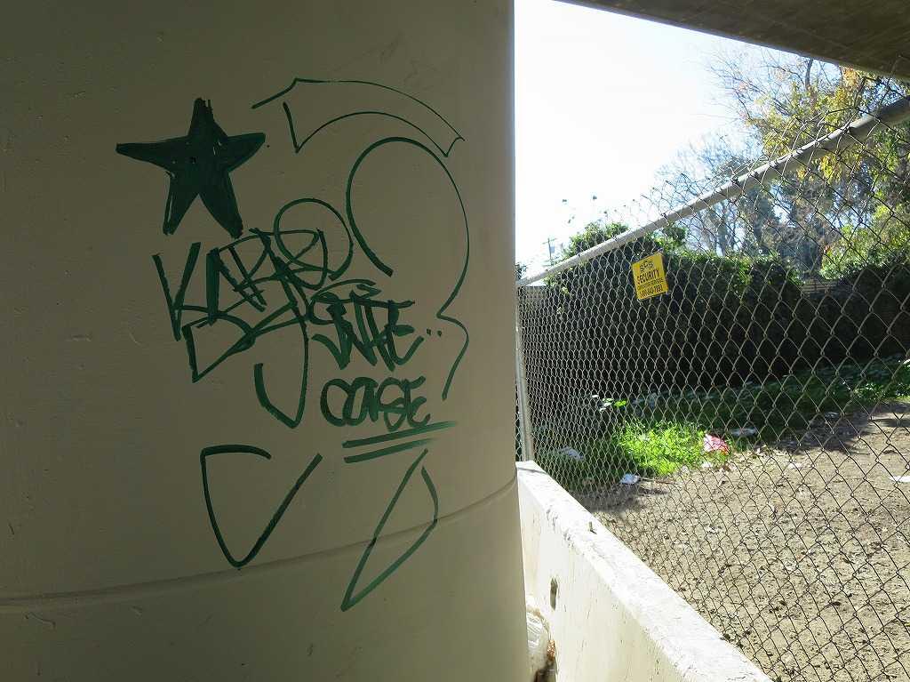 サンノゼ - 高架下の落書き