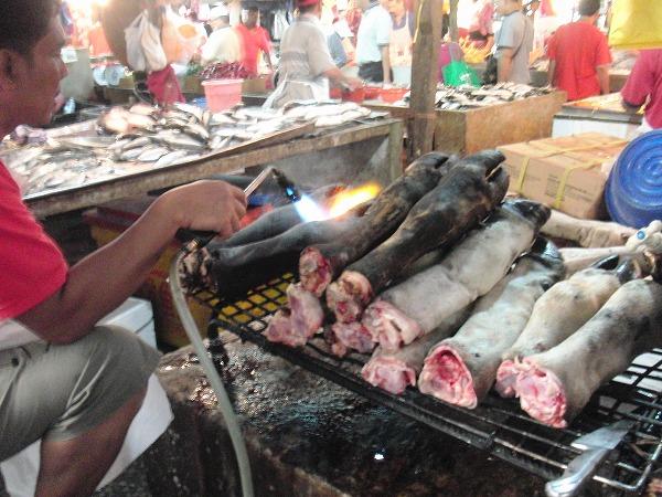 マレーシア・クアラルンプール「チョウキット市場」