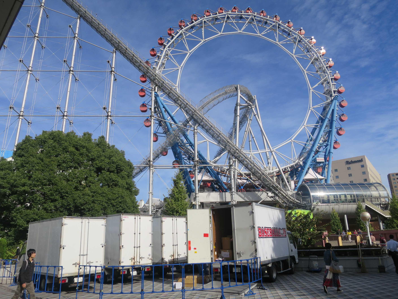東京ドームシティ 世界初のセンターレス大観覧車「ビッグ・オー」