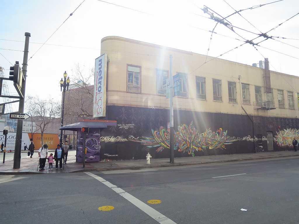 サンフランシスコ市内のアート