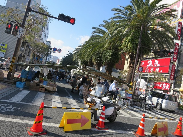 追手筋・日曜市 300年続く日本最大の街路市