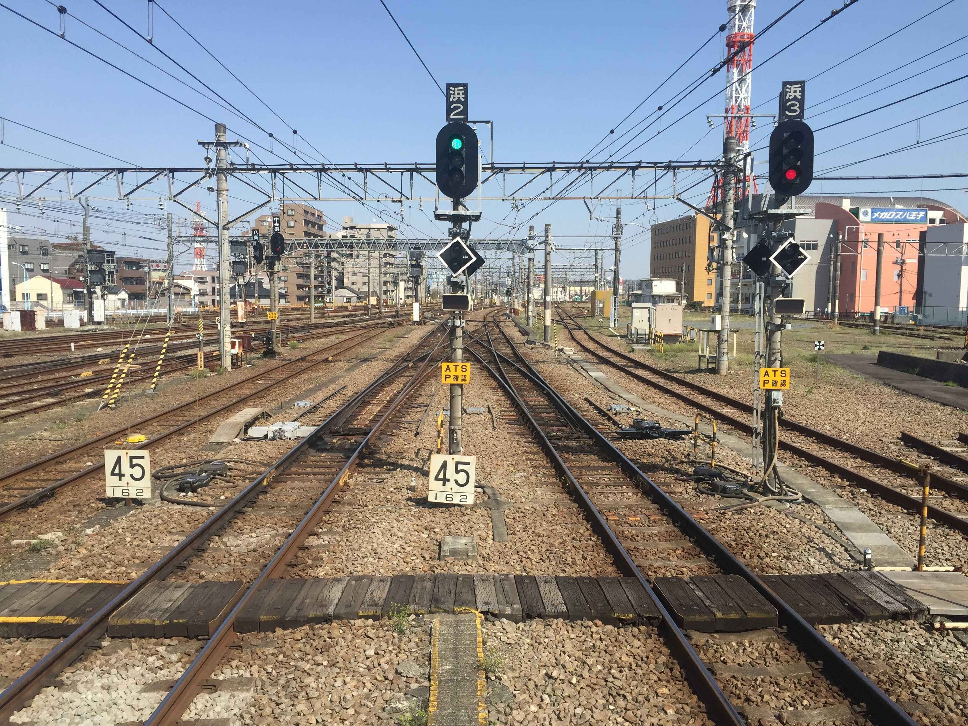 JR八王子駅の横浜線のホーム