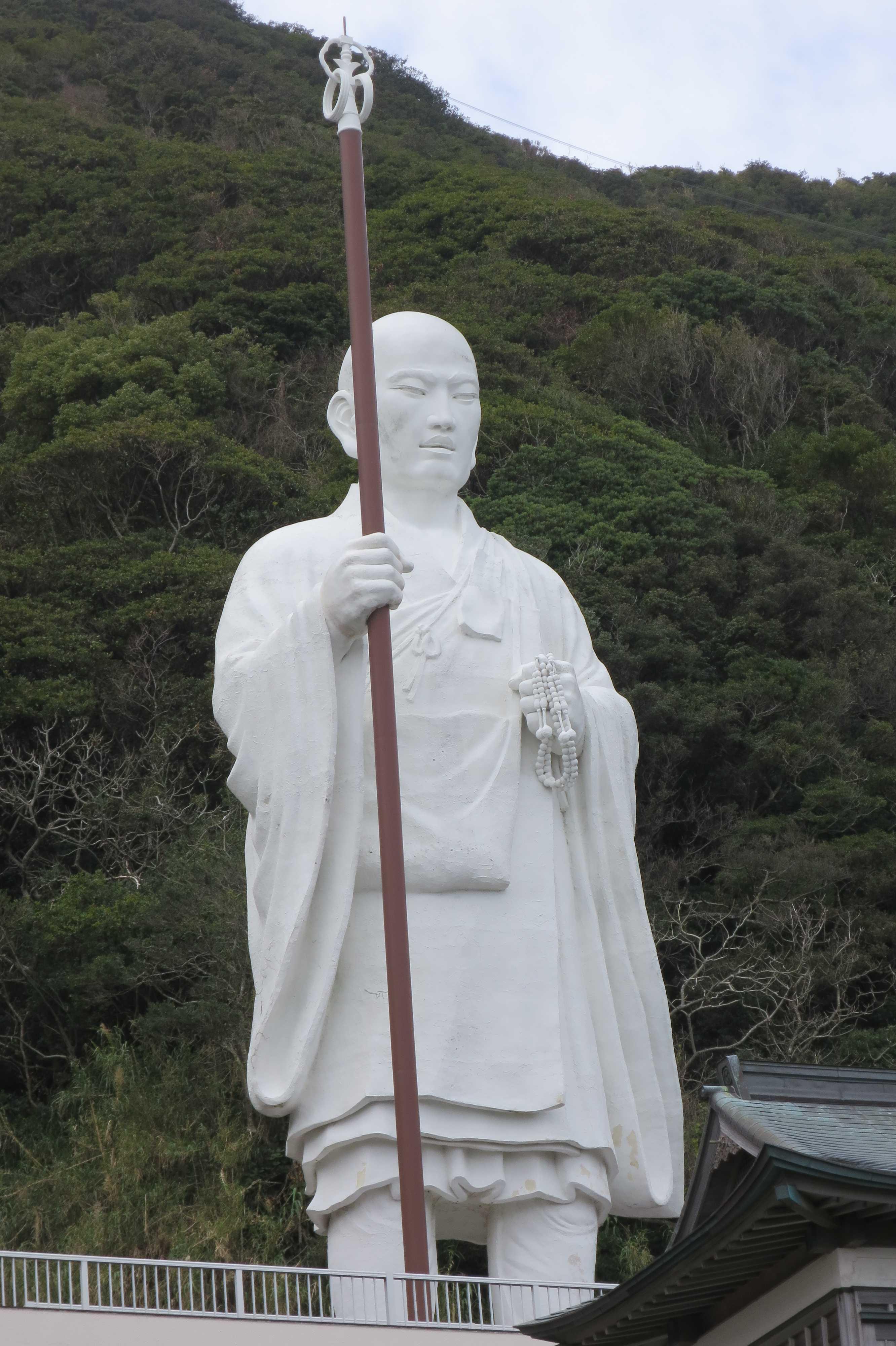 室戸岬 - 青年大師像の表情