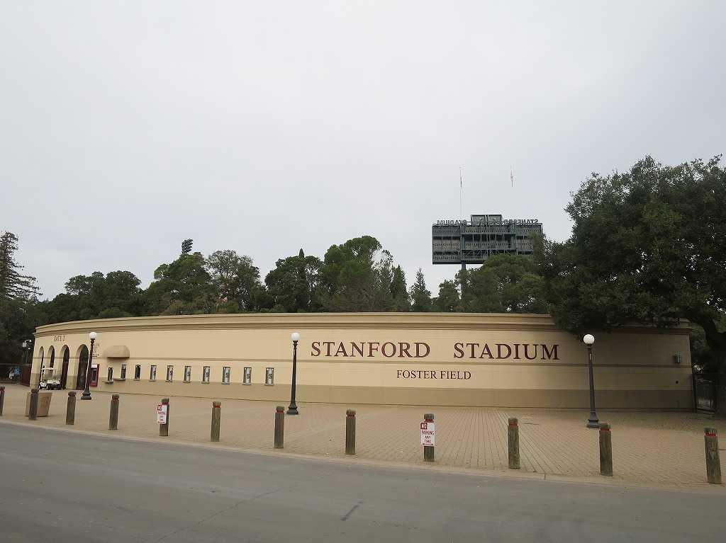 スタンフォード・スタジアム(Stanford Stadium)の外観