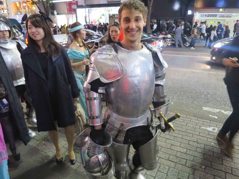 渋谷ハロウィーン - 中世ヨーロッパの騎士