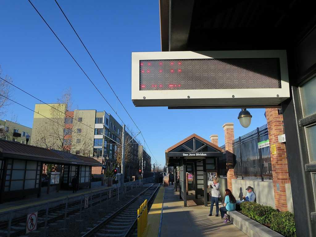 サンノゼ駅 - VTAライトレールのホーム