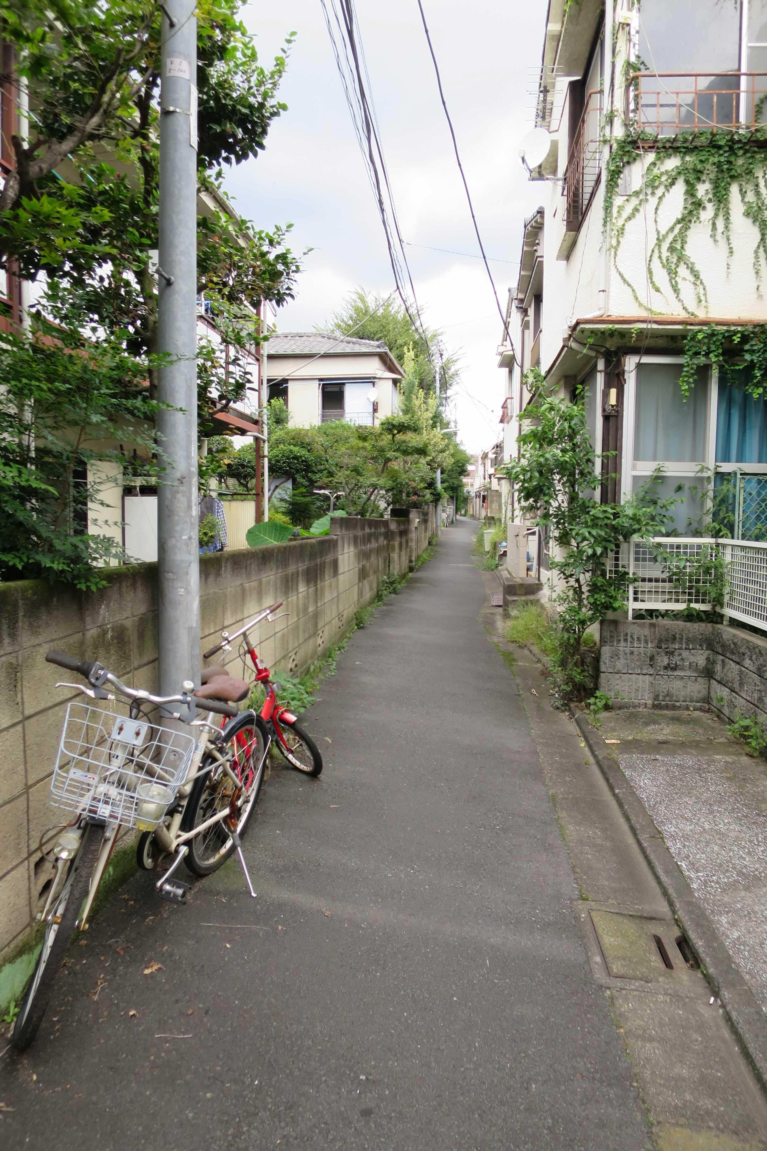 東京都品川区の路地