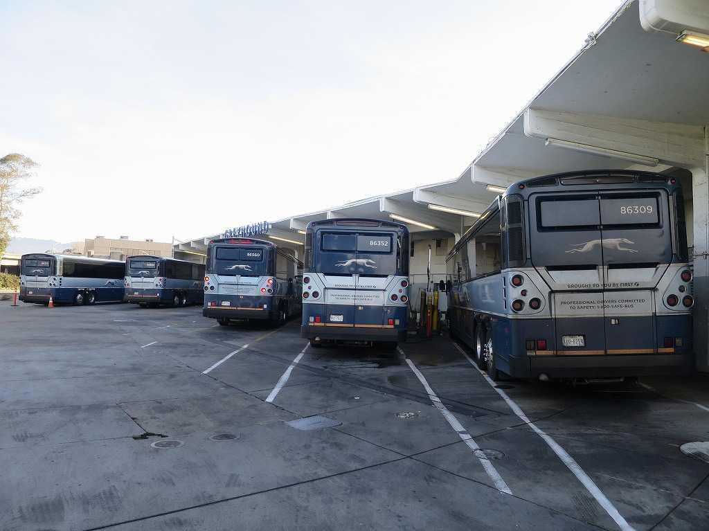 グレイハウンドバス - オークランド