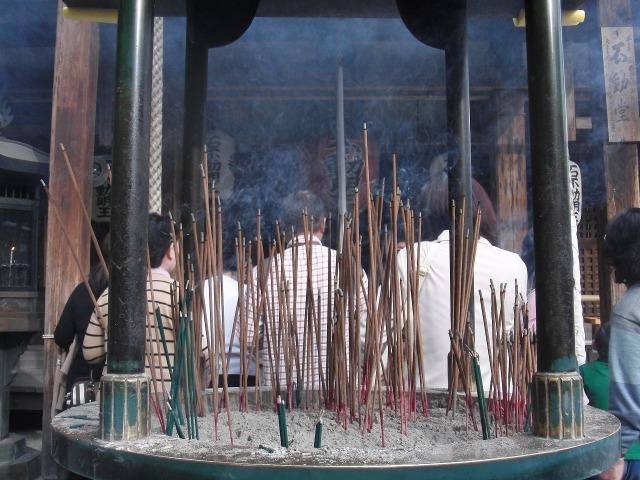 金閣寺のお線香