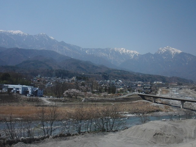 釜無川、鳳凰山、甲斐駒