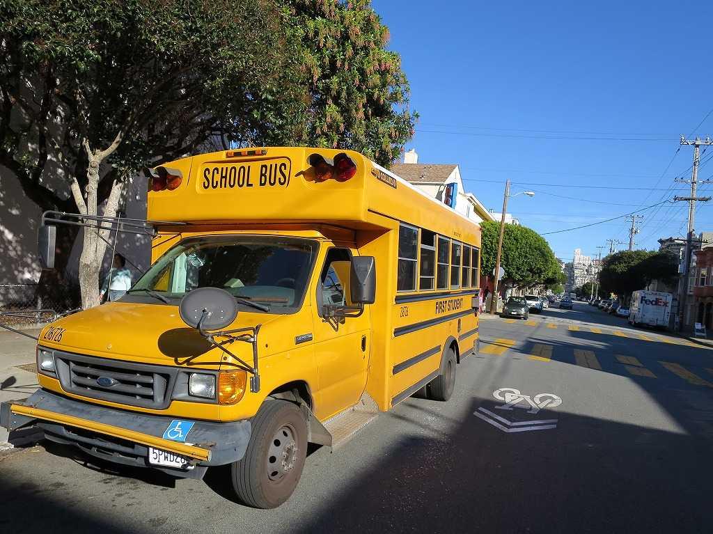 サンフランシスコ - スクールバス(SCHOOL BUS)