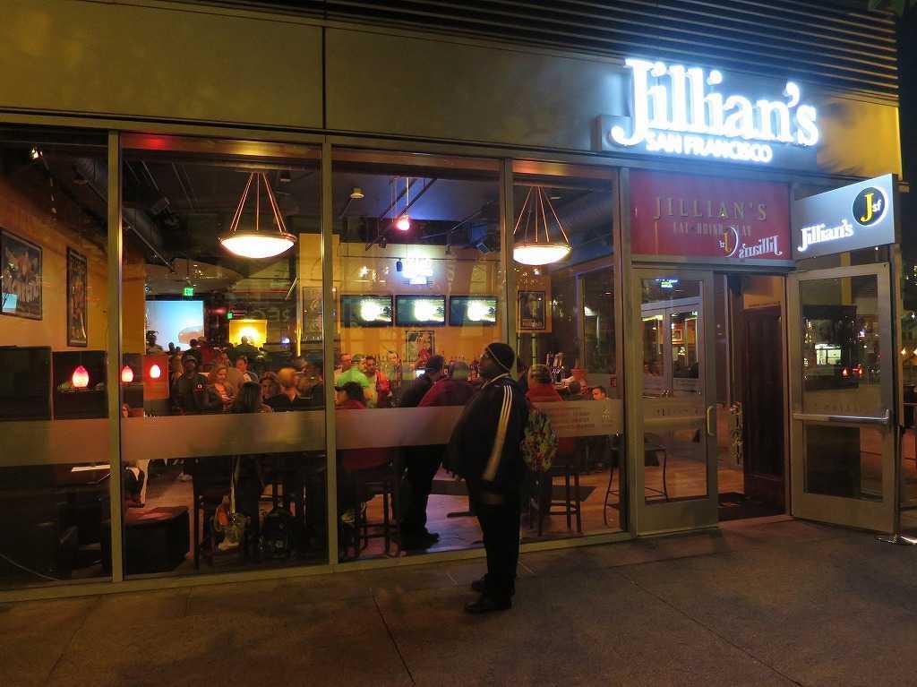 サンフランシスコのスポーツバー「ジリアンズ サンフランシスコ(Jillian's San Francisco)」