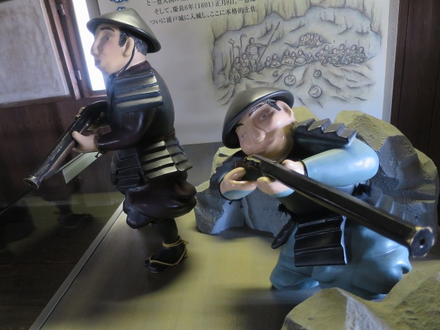 高知城のジオラマ - 狙撃兵
