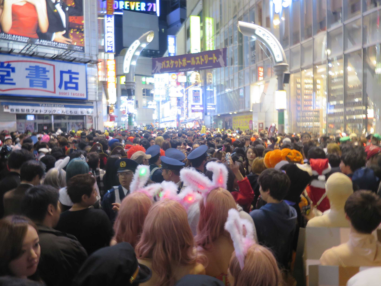渋谷ハロウィン - 渋谷センター街
