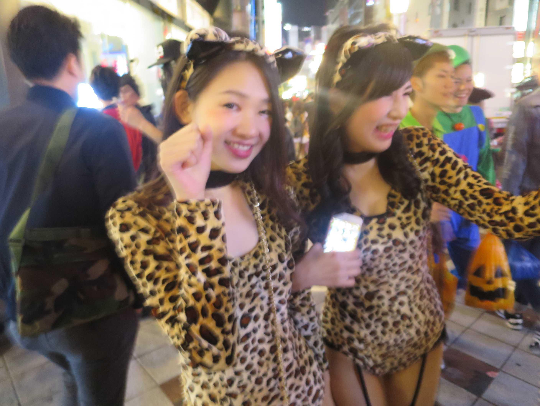 渋谷ハロウィーン - 女豹
