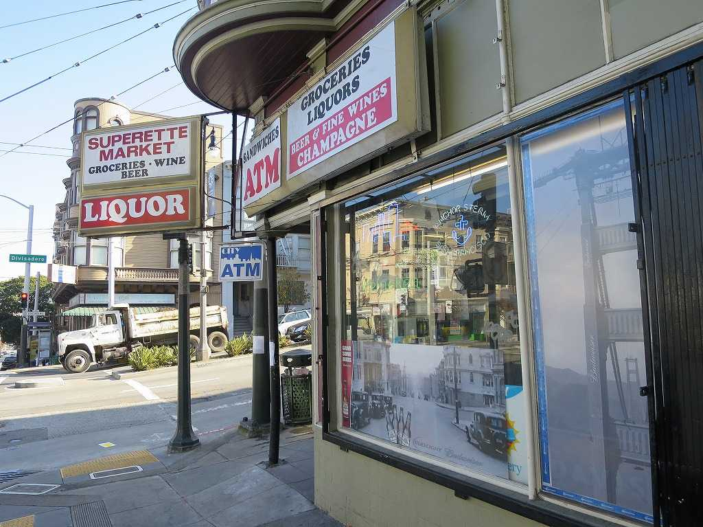 サンフランシスコ - LIQUOR - 街角の酒屋さん