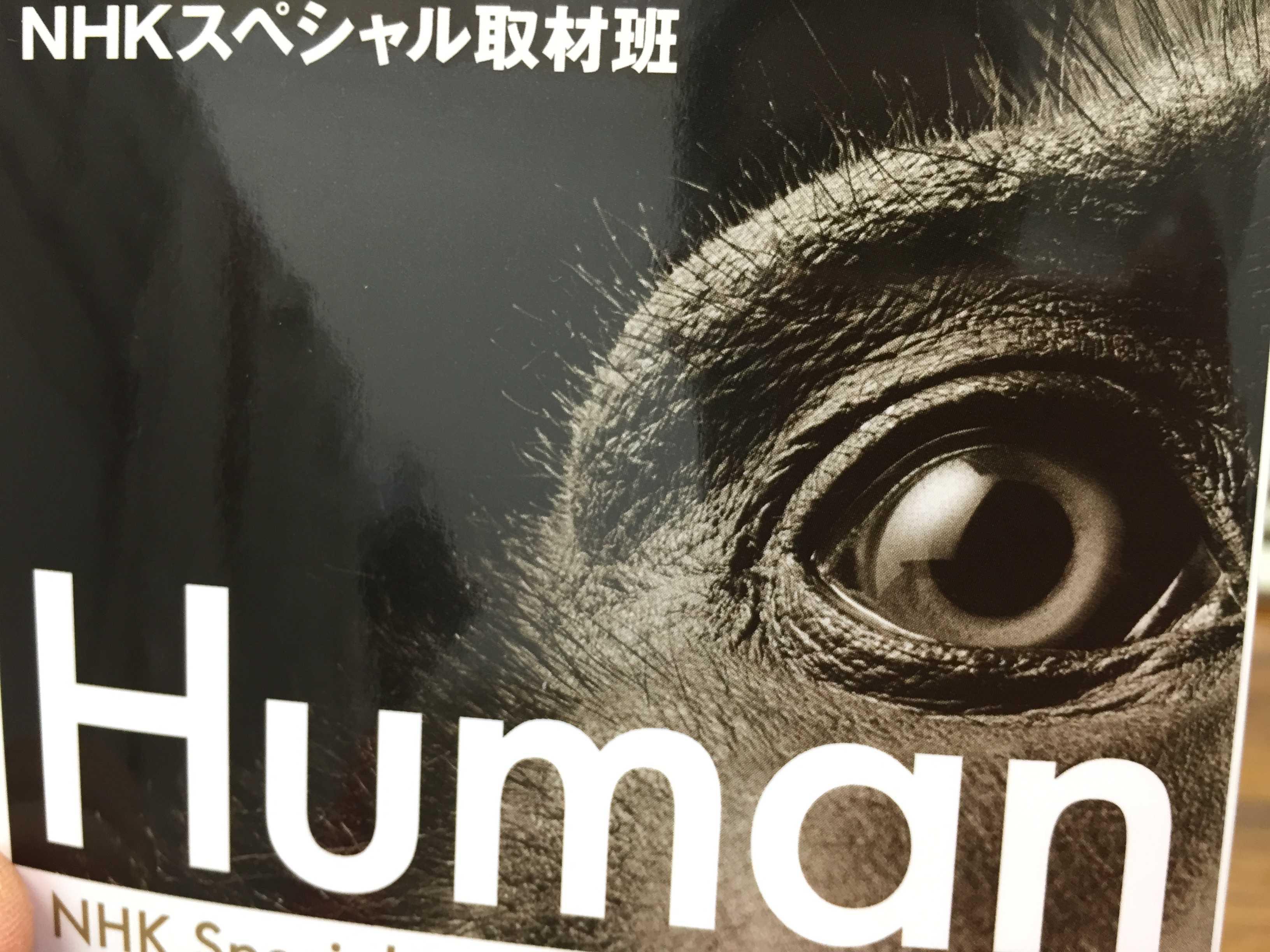 この本 面白っ!「ヒューマン なぜヒトは人間になれたのか」  NHKスペシャル取材班