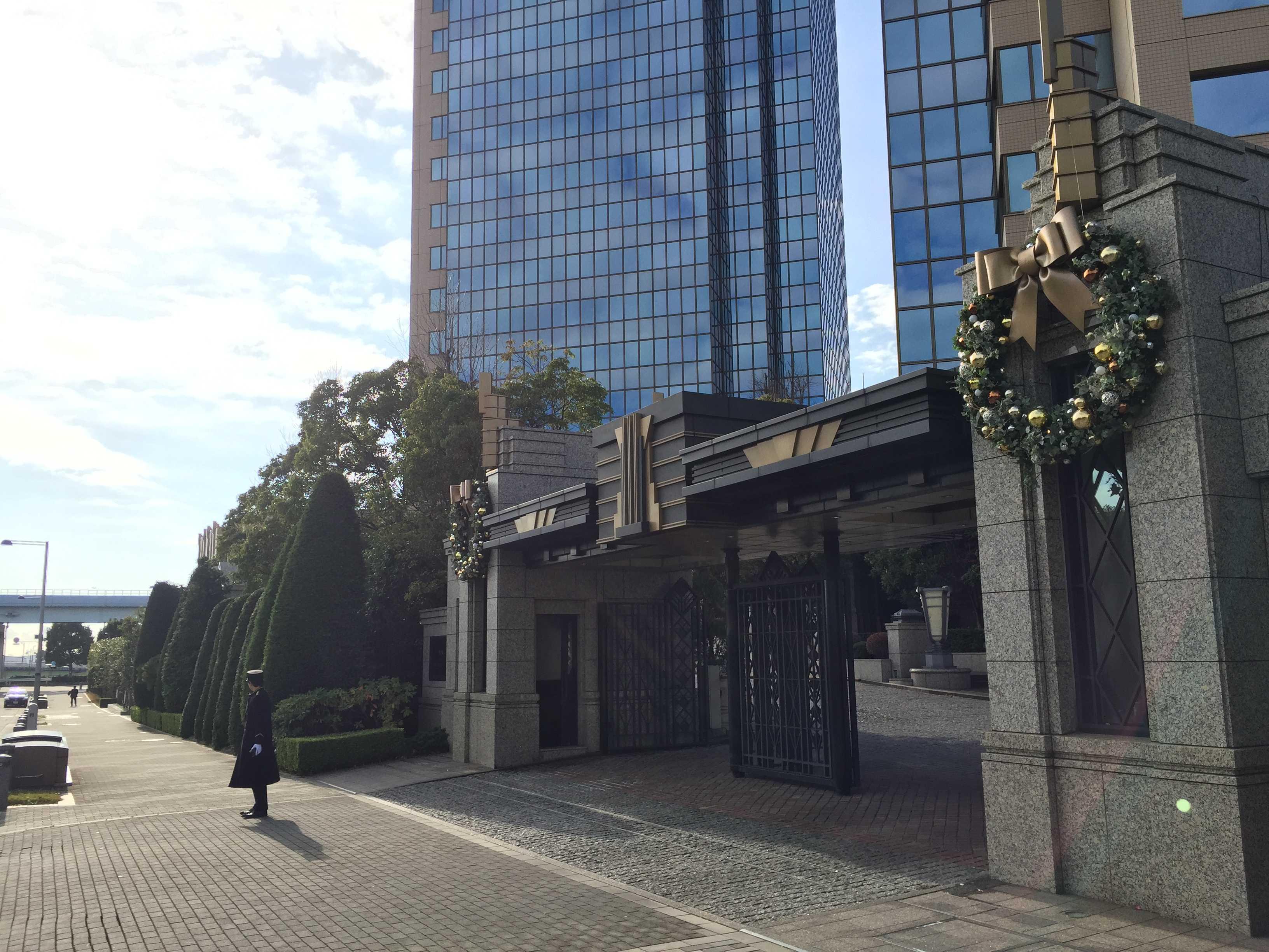 東京ベイコート倶楽部の正門