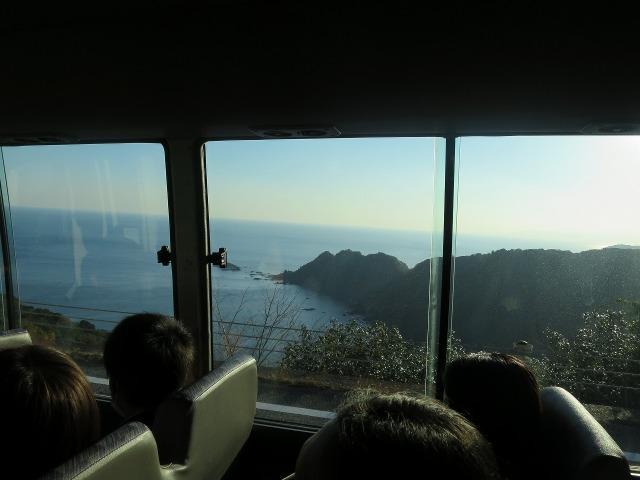 バスの車窓 - 高知