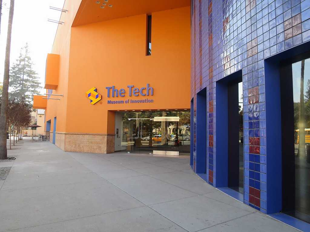 テック・イノベーション博物館 入口