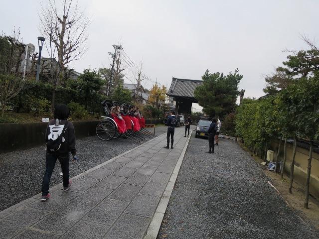京都の人力車