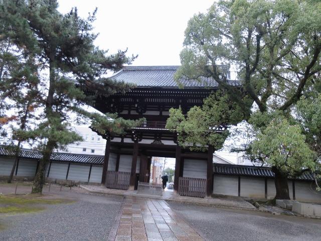 広隆寺山門
