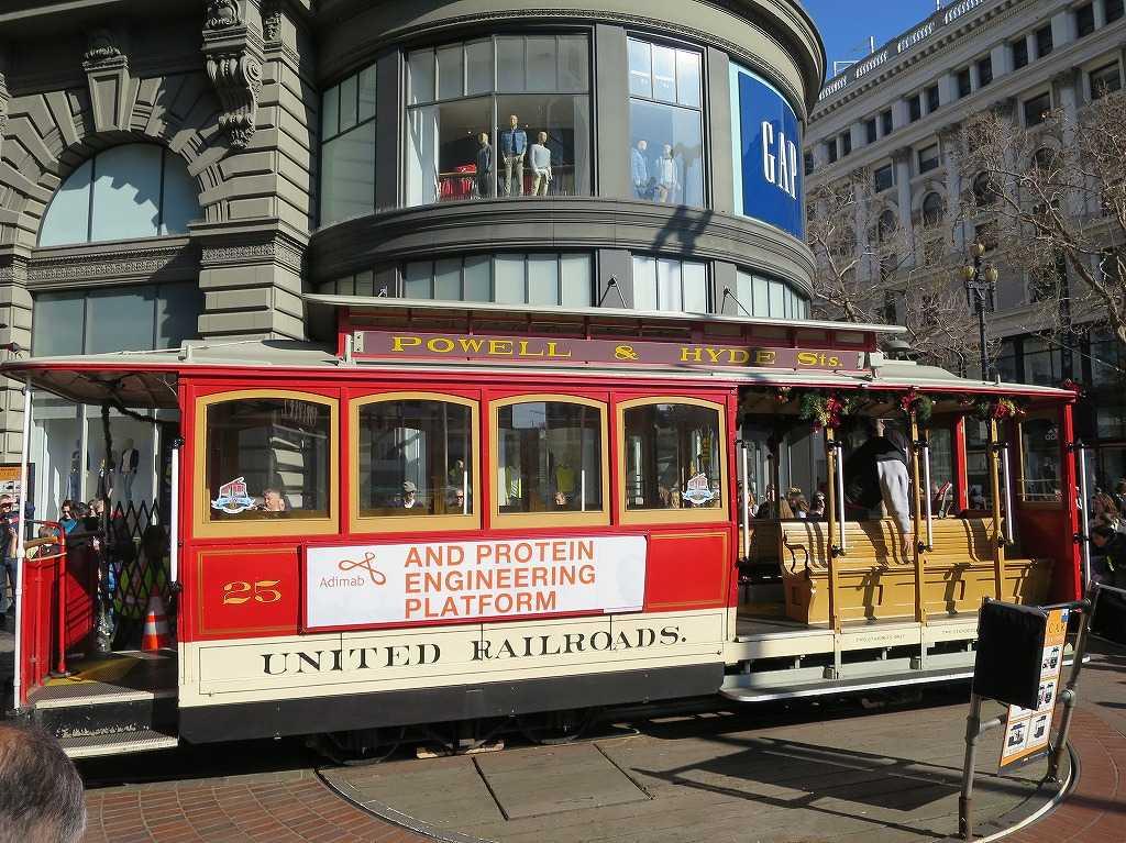 サンフランシスコの情緒 - ケーブルカー