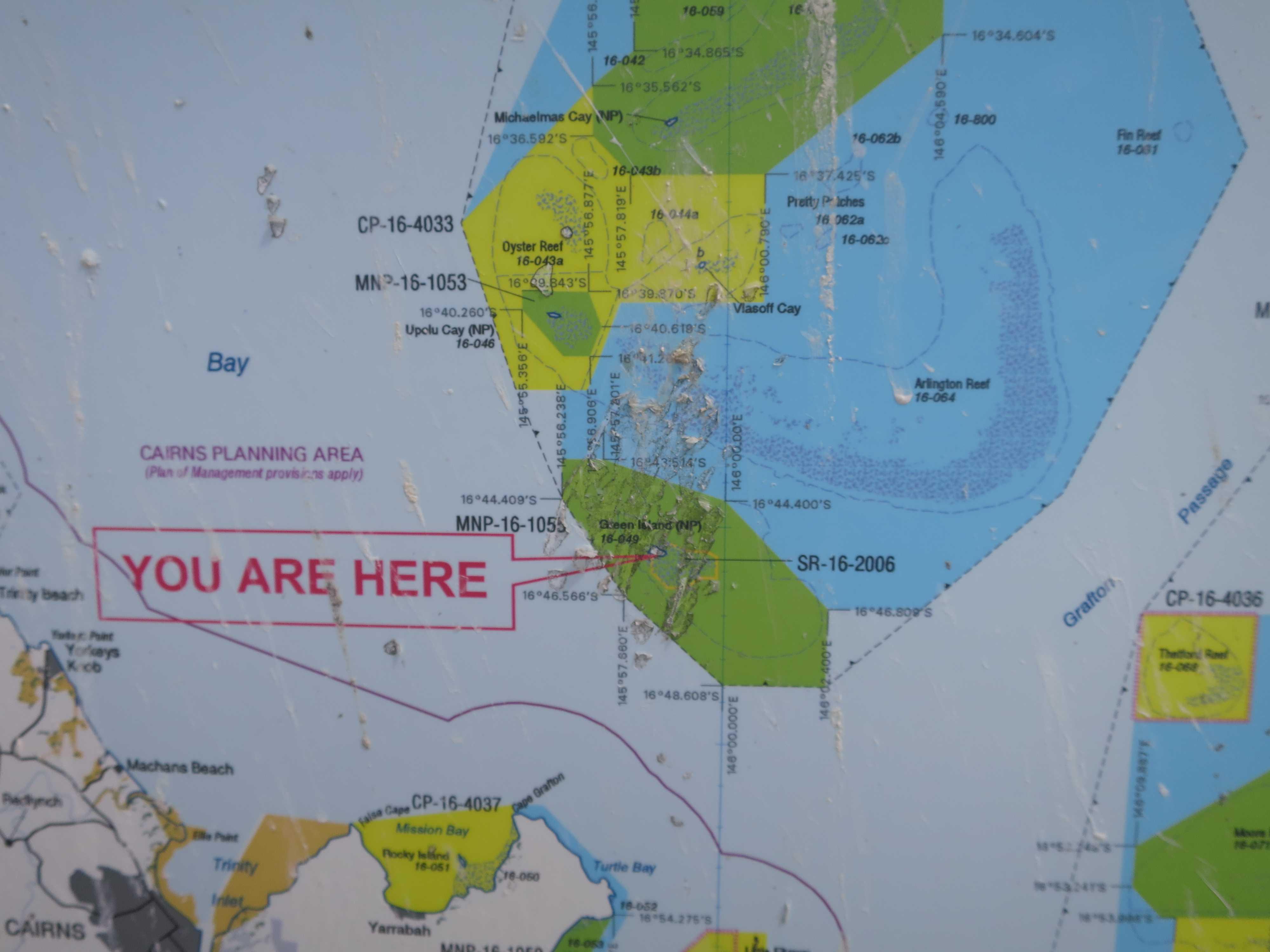 グリーン島 - YOU ARE HERE